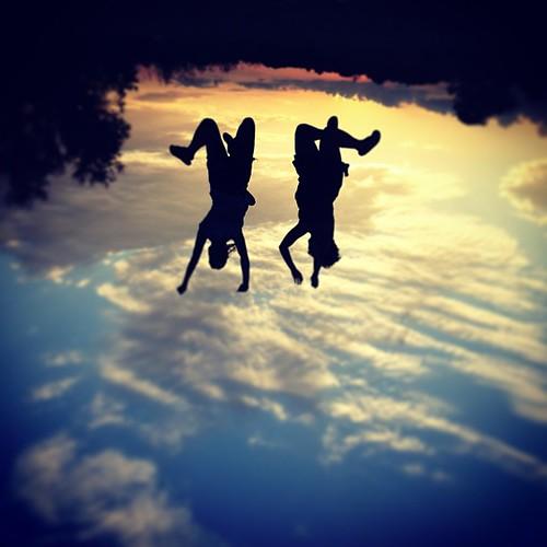 Falling in Heaven