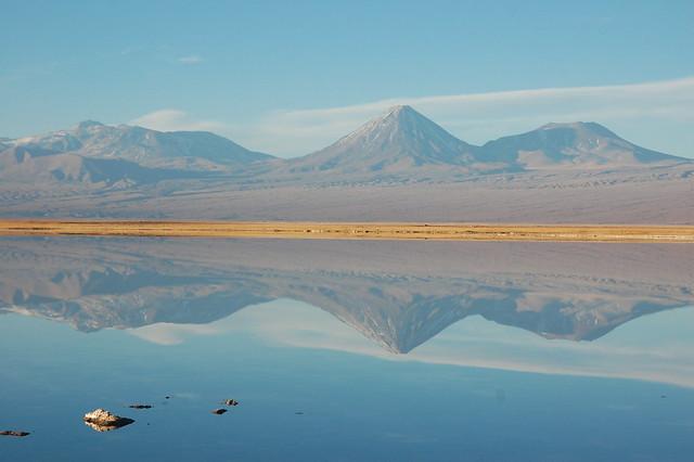 Sunset at Laguna Tebinquinche, San Pedro de Atacama