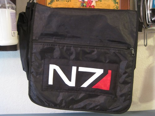 Mass Effect Messenger Bag Update