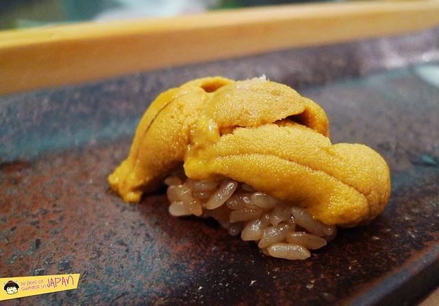 Sushi Sho - Tokyo - Hambagua Kyushu uni