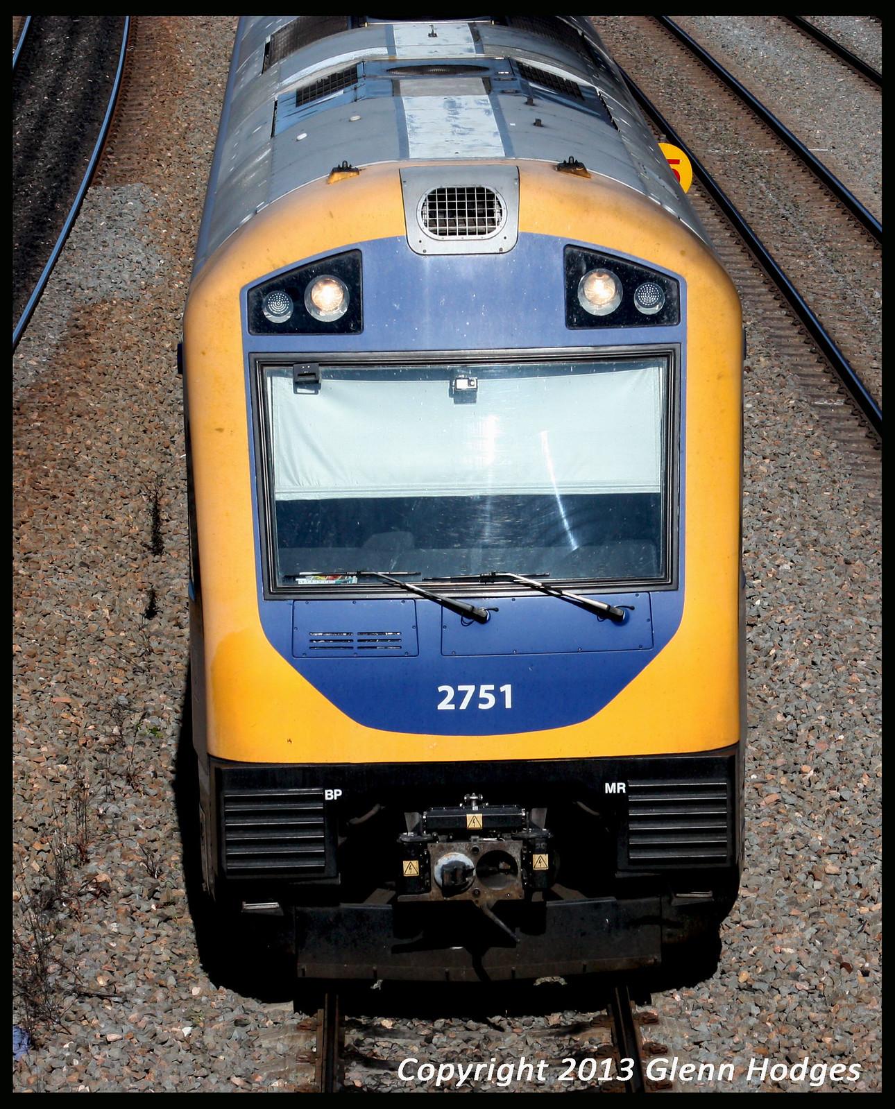 Hunter Railcar 2751/2701 by glenn5108