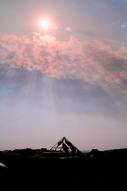 My first Burning Man sunrise.