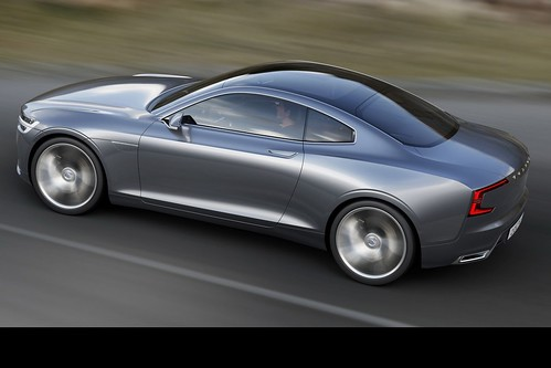 The Volvo Concept Coupé Photo Gallery