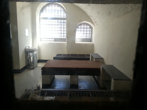 Prison cell on Spike Island. by despod