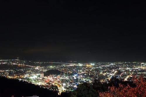 夜景 徳島 2013 眉山