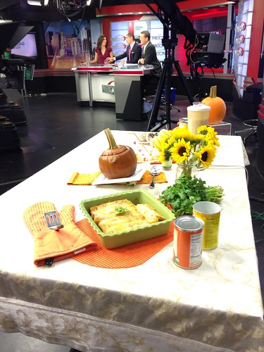 pumpkin segment on NECN