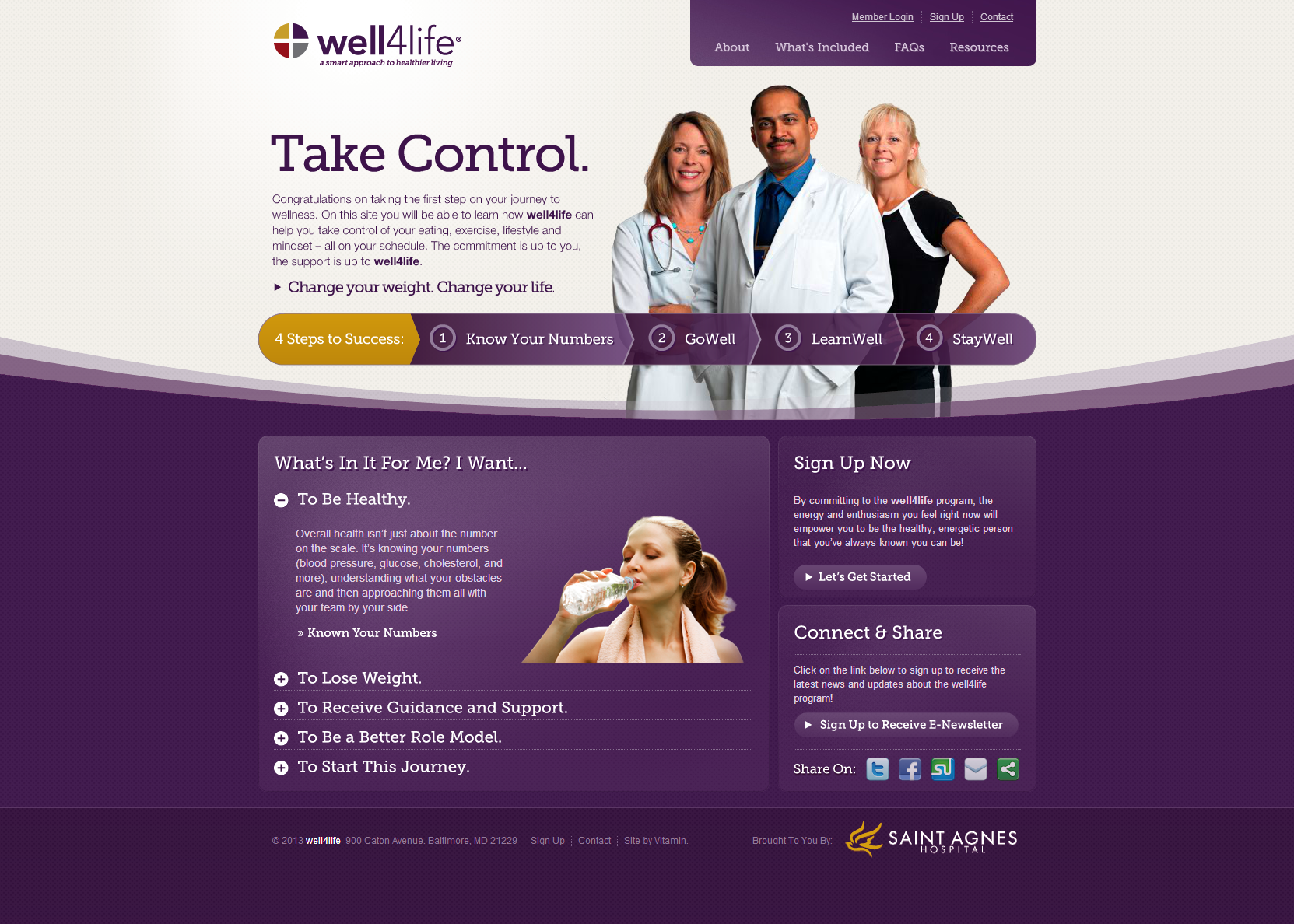 Well4Life Beautiful Health Website