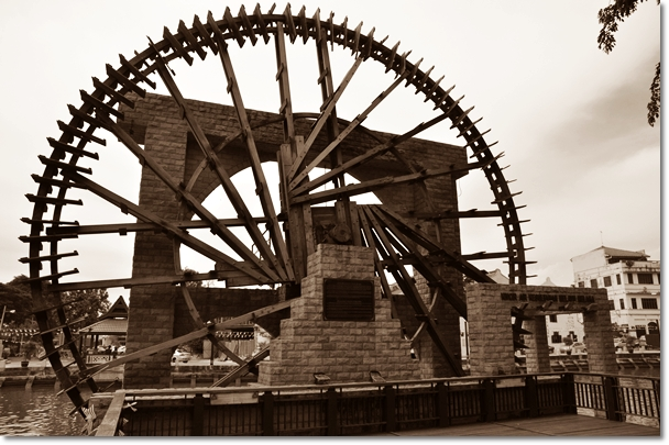Waterwheel of Malacca