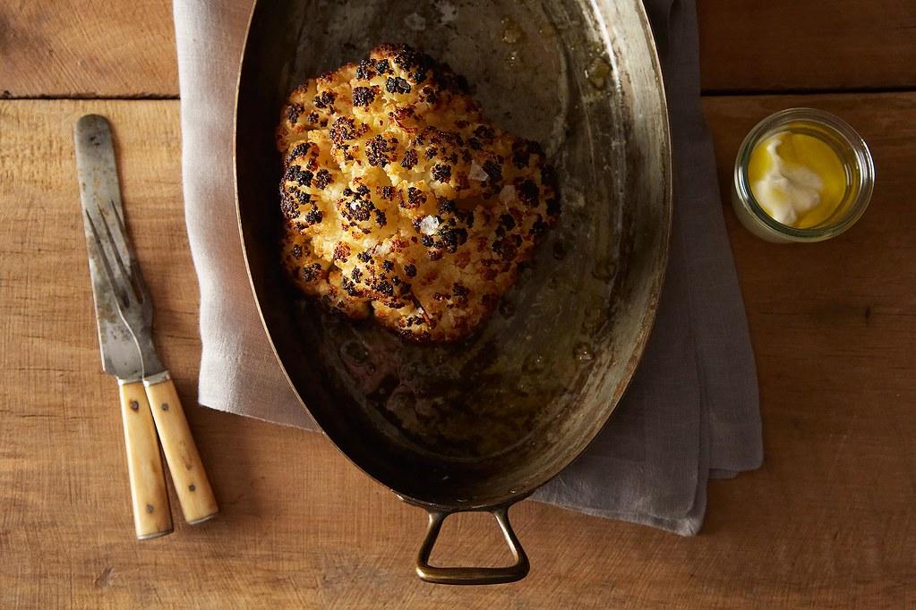 Whole Roasted Cauliflower on Food52