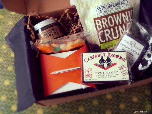 Orange Glad Sweets Box Gift Find and Review on the blog Gave That