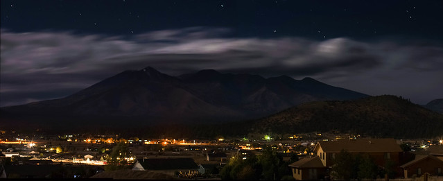 Night Skies over the San Francisco Peaks