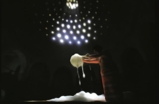 En mitad de un baño de burbujas en el Hamman turco de Estambul