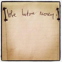 Aha love it. After a day spent with spreadsheets & finances, I find this note I made for myself earlier this year... #wordstoliveby