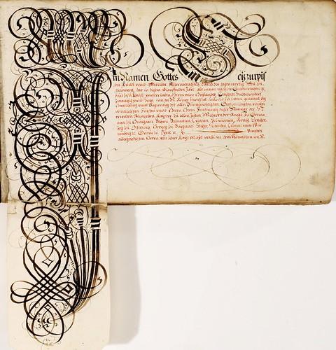 004-Kalligraphische Schriftvorlagen- 1626-1634- Johann Hering- Staatsbibliothek Bamberg