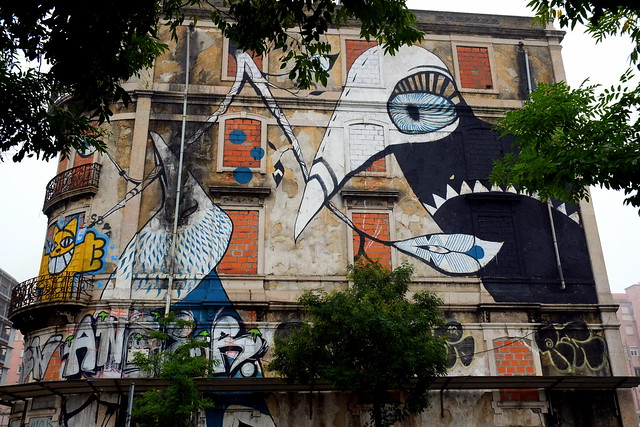 mural . crono project | Lucy Mclauchlan | lisbon