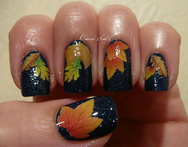 sunshine + leaves decals 2