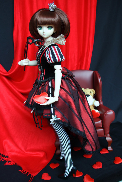 Sidonie as the Queen of Hearts ♥