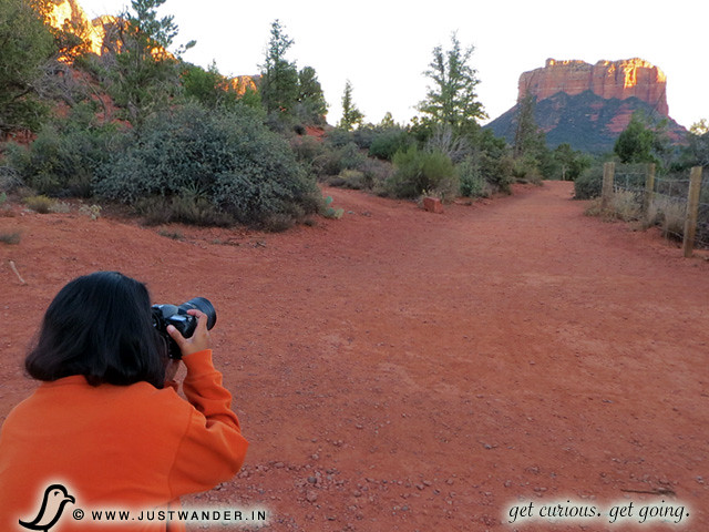 PIC: Maya of JustWander.com photographs Bell Rock Pathway, Sedona, Arizona