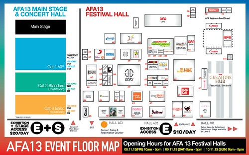 AFA SG 2013 floorplan