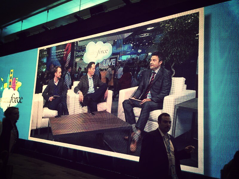 Hosting a segment of Salesforce Live