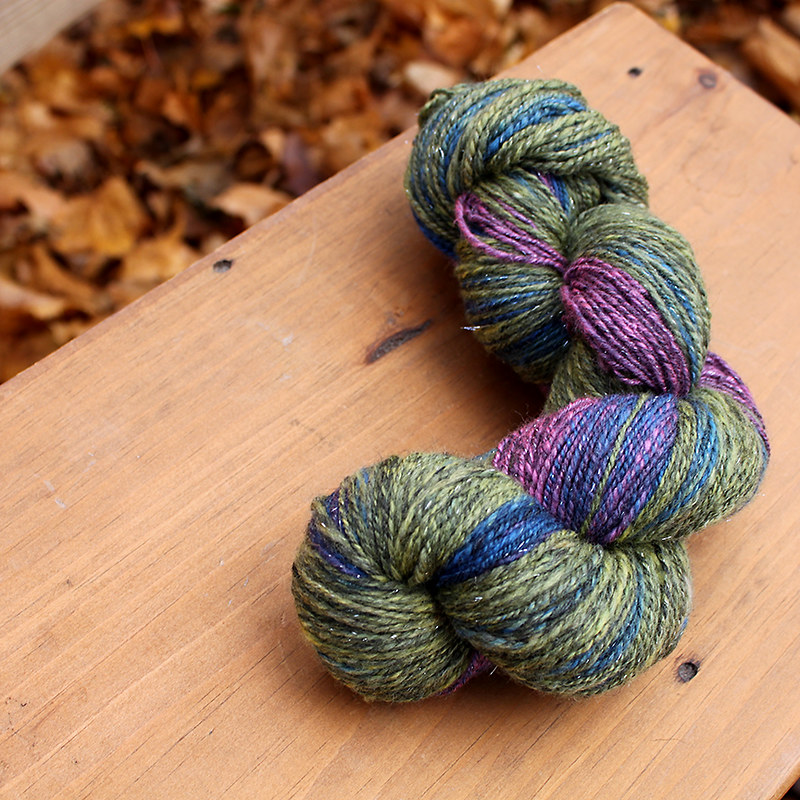 Gem Sparkle Handspun Yarn