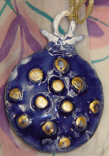 Christmas ornament by Pauline Doyle