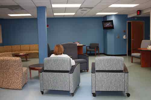 MH - St. Mary's waiting area