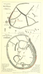 Image taken from page 121 of 'The Ruined Cities of Mashonaland: being a record of excavation and exploration in 1891 ... With a chapter on the orientation and mensuration of the temples by R. M. W. Swan. [With plates.]'