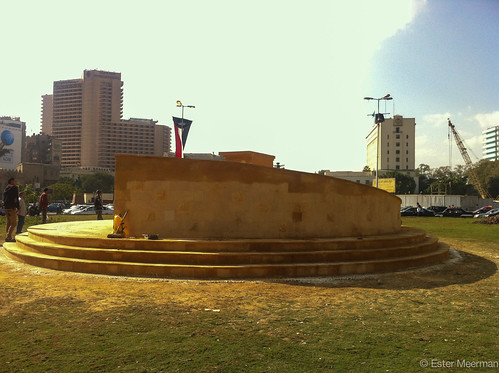 New monument on Tahrir restored