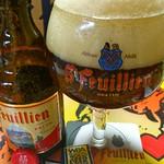 ベルギービール大好き!!サン・フーヤン・ブリューンSt.Feuillien Brune