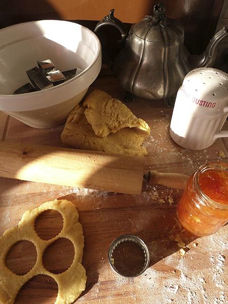 baking au soleil