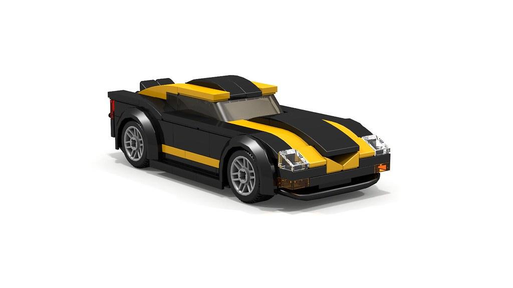 Lego Mini Sports Car Instructions