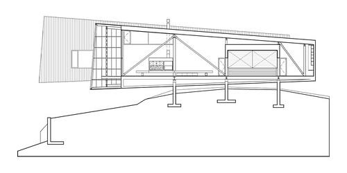 Mackay-Lyons Sweetapple 建築師事務所 - Two Hulls 海濱的雙殼四口之家