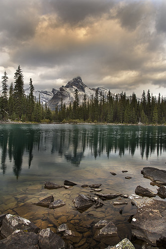 mountain lake cathedral ohara yoho yohonationalpark bunlee