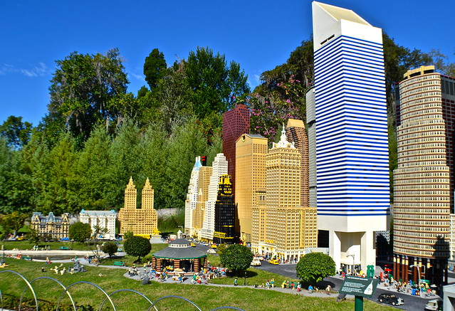 Legoland, Florida - Miniland - New York City