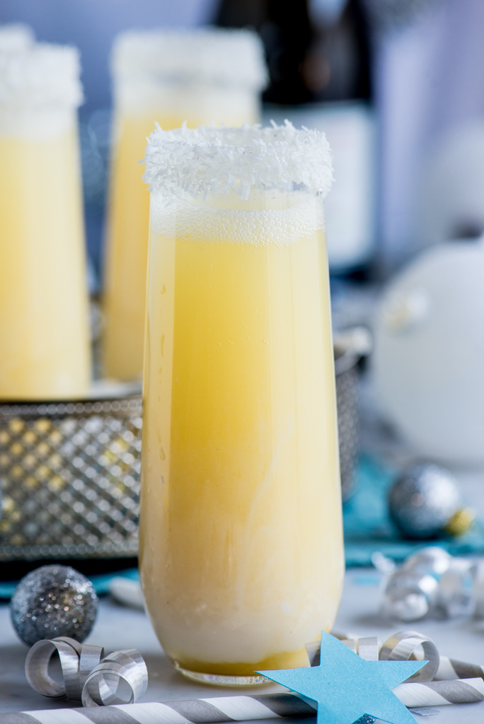 11631122233 28636e08be b Pineapple Coconut Champagne Cocktail and My Top 10 Recipes of 2013