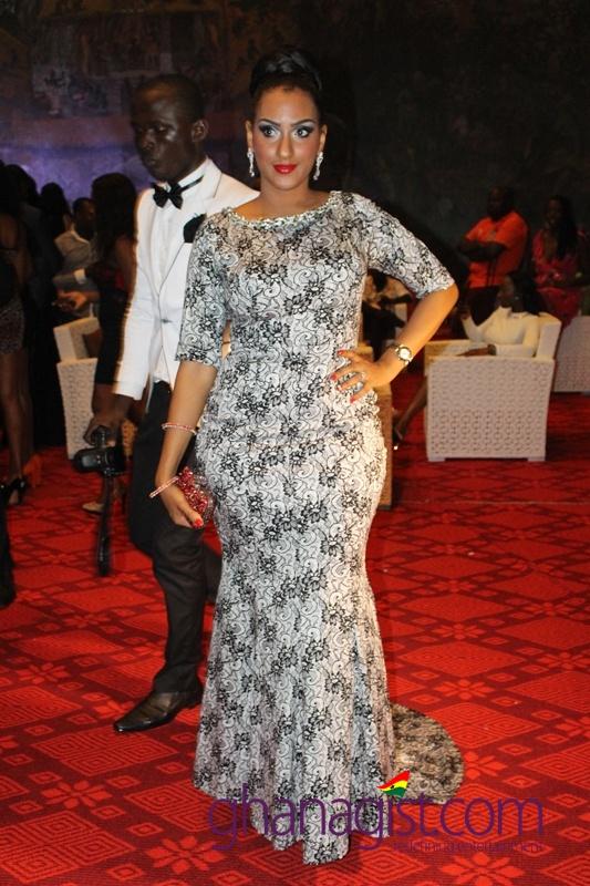 Juliet Ibrahim at Ghana Movie Awards