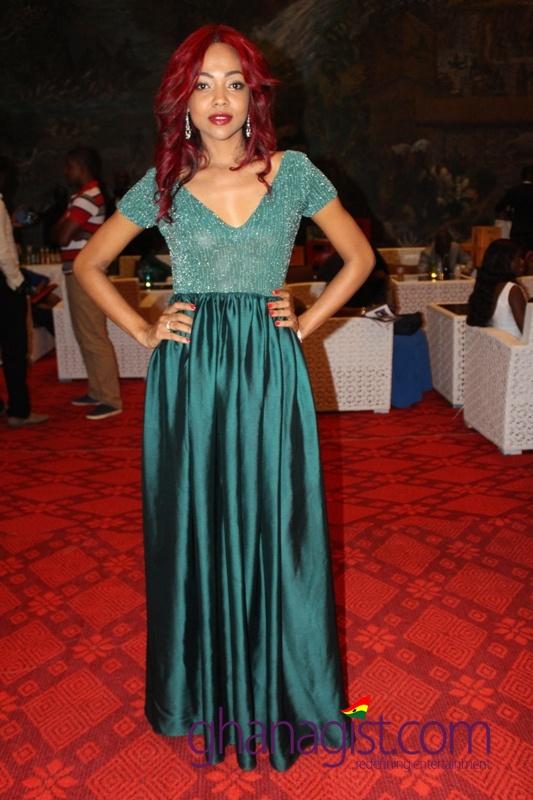 Jasmine Baroundi at Ghana Movie Awards
