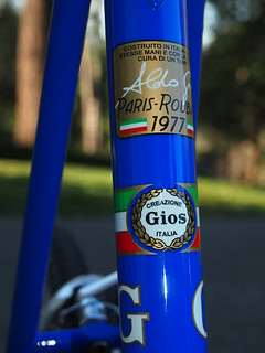 Gios Torino: Limited Edition Reproduction of the De Vlaemink Super Record Paris-Roubaix Frame and Fork