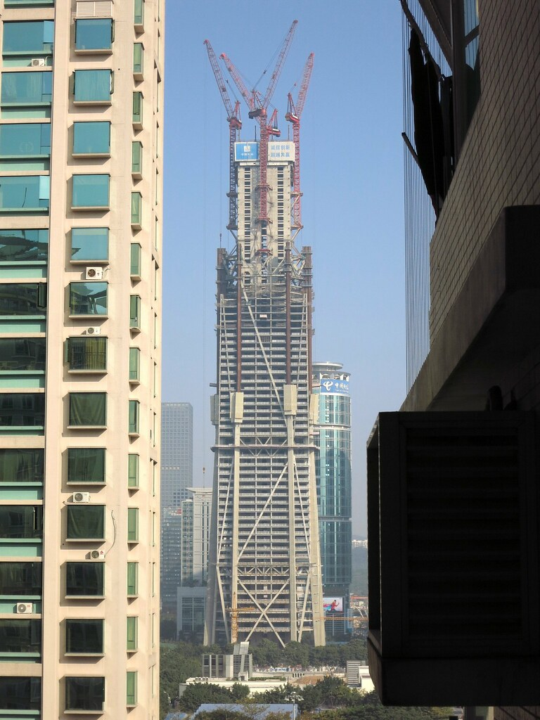 Ping An Finance Center 平安國際金融中心 Shenzhen China