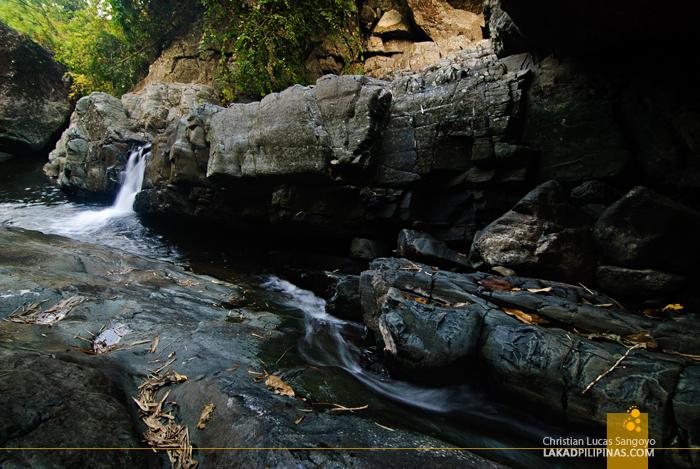 Rocky Trail to Liktinon Falls at President Roxas, Capiz