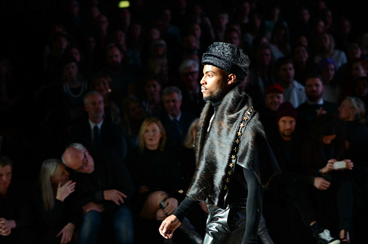 Aziz Bekkaoui Fashion week Amsterdaqm 2104