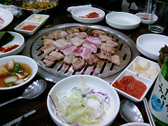 hot pot(0.0), shabu-shabu(0.0), nabemono(0.0), meal(1.0), lunch(1.0), supper(1.0), samgyeopsal(1.0), food(1.0), dish(1.0), cuisine(1.0),