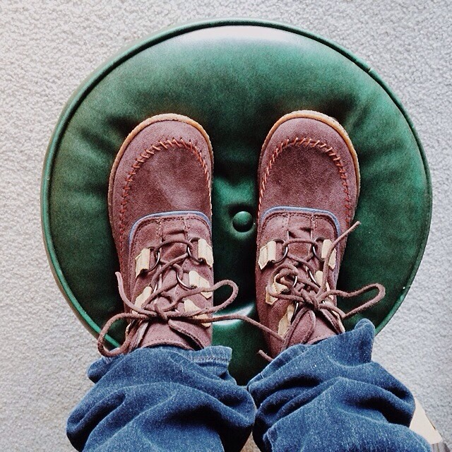 Changed my mind; going with the brown ones.    #sorel #winterboots #makeupyourmind