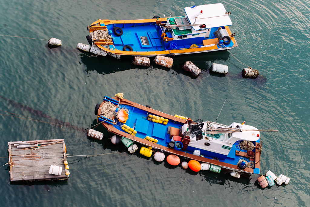 Boats in Yeosu