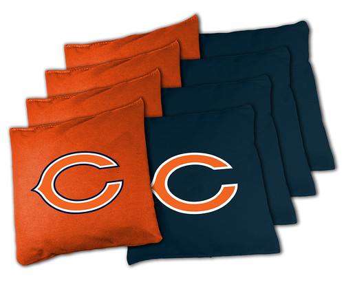 Chicago Bears Cornhole Bags