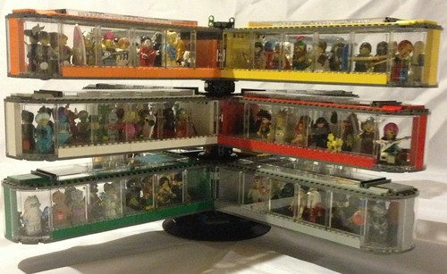 LEGO Collectible Minifig series display case