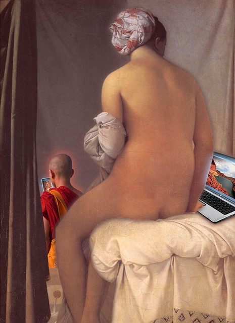 View of Lake Powell, Ingres Valpincon-Bather (1808), Laptop, Monk, and iPhone 7 bp by stew says ישעיה טשערויין