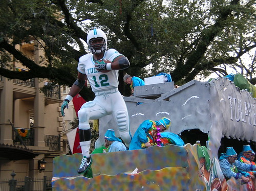 Tulane float