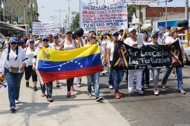 Caminata de Mujeres por la Paz